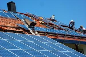 Photovoltaik-Anlagen-branche